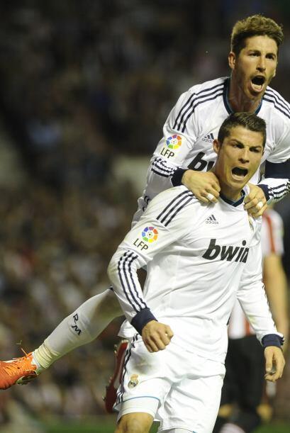 Los 'Leones' vascos fueron domados casi de inmediato por Cristiano Ronaldo.