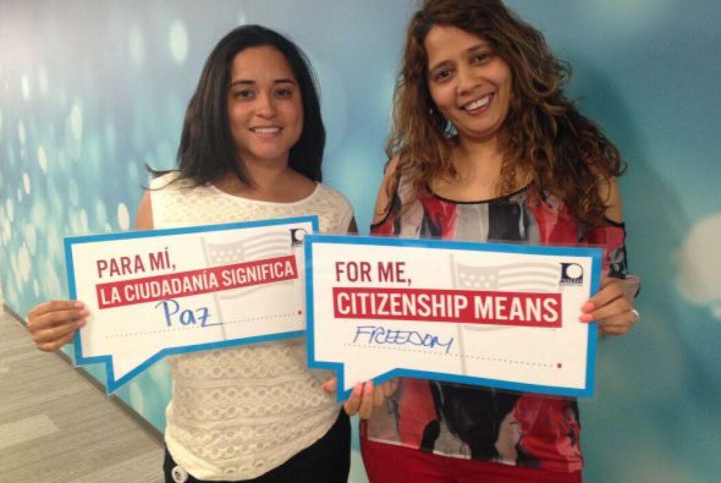 Mónica Zapata y Julissa León de Univision Radio destacan su mensaje de l...