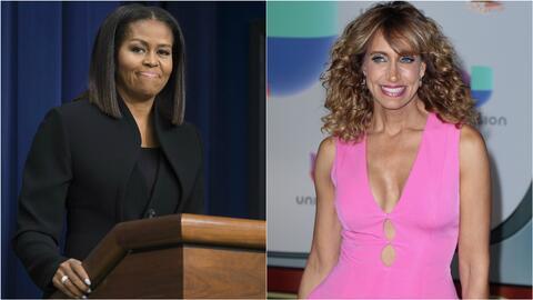 Lili Estefan conversó con la hija de Michelle Obama y le preguntó si su...