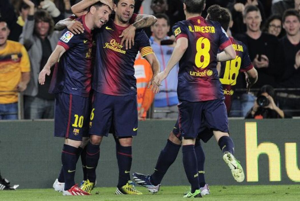 El argentino reapareció con el Barcelona y apenas entró de cambio marcó...