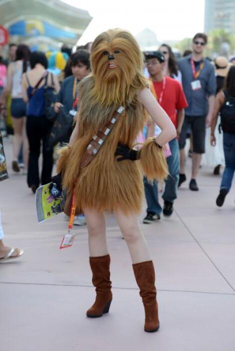 ¿La prima perdida de Chewbacca?