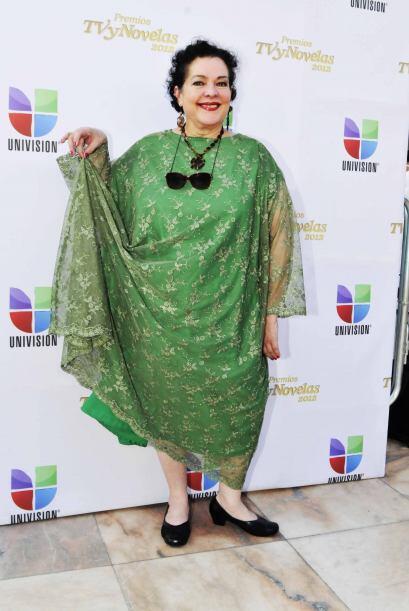 Delia Casanova ya sabía que las cortinas eran la moda de algunas...