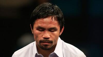 Manny Pacquiao salió bien de la cirugía.