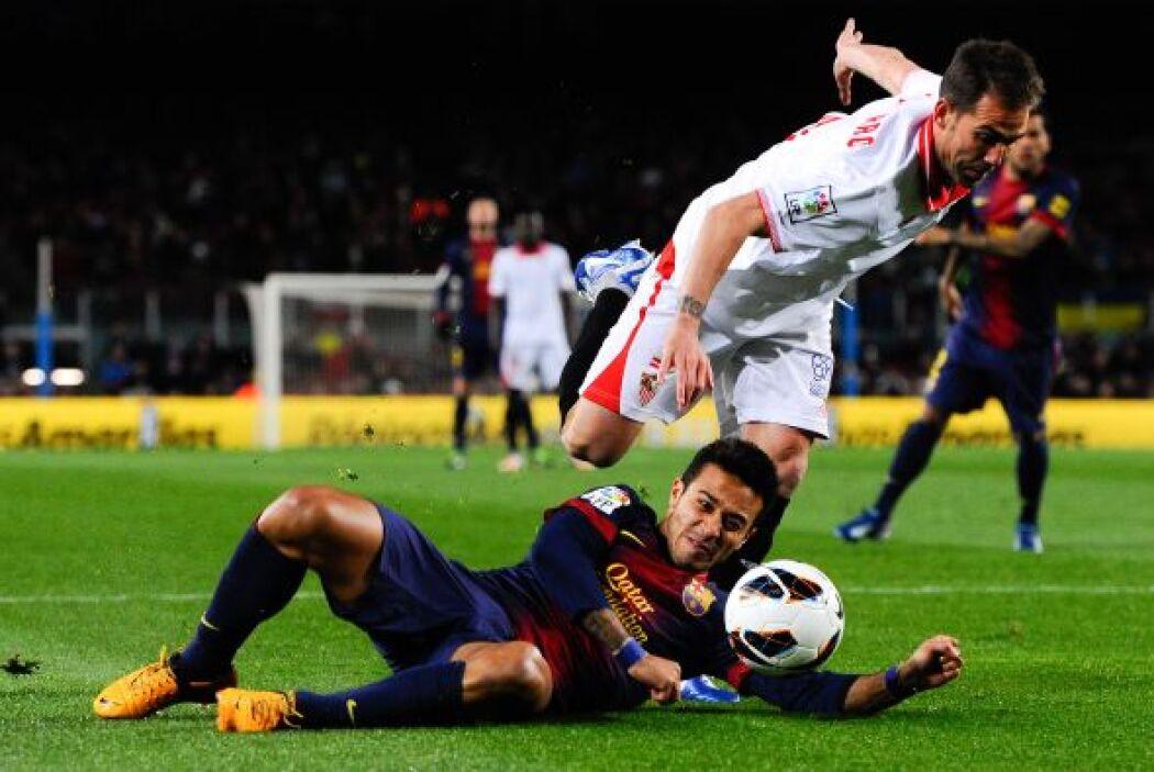 El Sevilla cobró fuerzas con el gol.