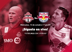 Toronto FC vs New York Red Bulls, Síguelo en vivo