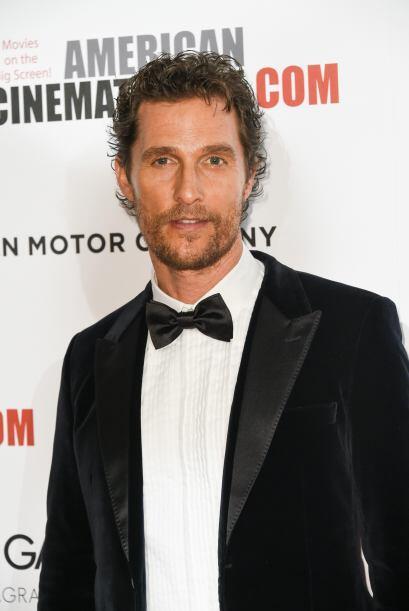 """Varios """"clicks"""" le dieron al sensual Matthew McConaughey la no..."""
