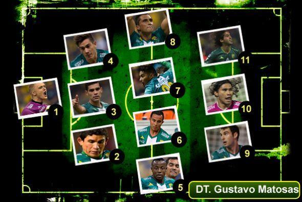 El León es el campeón del fútbol mexicano y por eso su alineación titula...
