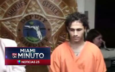 'Miami en un Minuto': compareció ante la corte un hombre acusado de dars...