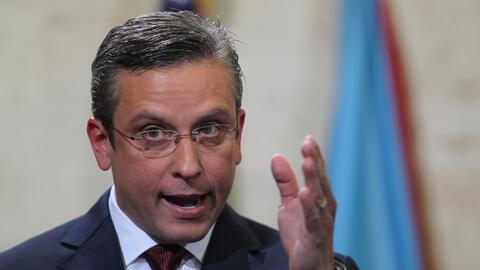 ARCHIVO - En esta foto de archivo del 30 de abril de 2015, el gobernador...