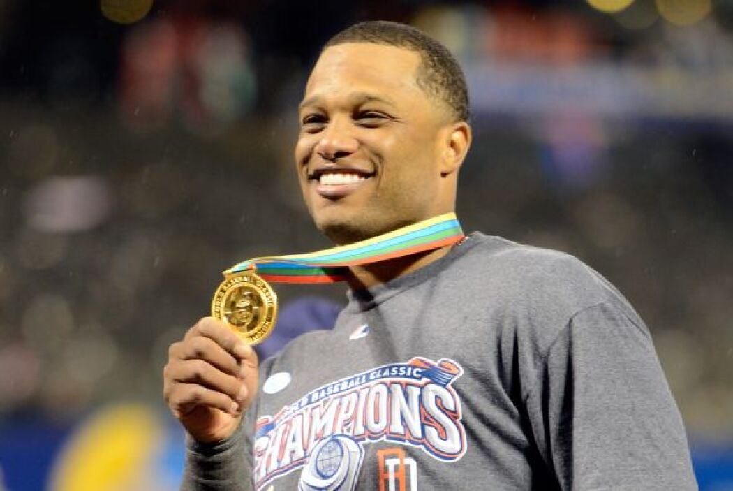 Robinson Canó fue nombrado el MVP del CLásico Mundial de Béisbol.