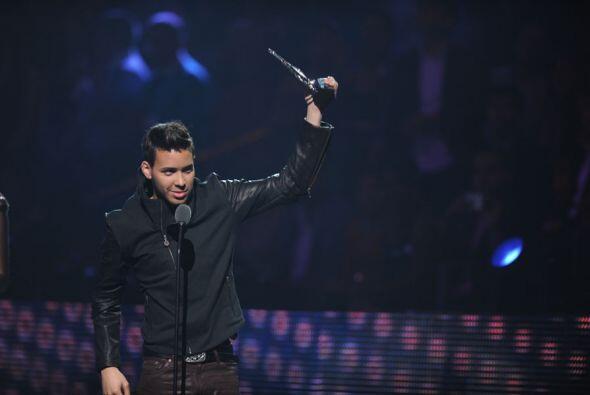 Prince Royce se llevó el premio al Mejor Álbum Tropical del Año.