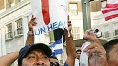 Arrancan las caravanas que asistirán a la Marcha Nacional por la Reforma...