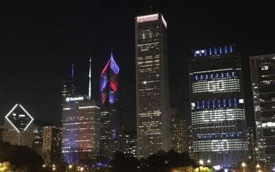 Los fans de los Cubs se sumaron a la fiesta por el triunfo del equipo