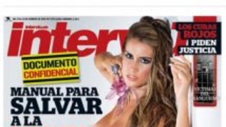 Fabiana Leis se desnudó para la portada de la revista española Interviú.