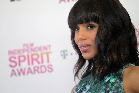 Kerry Washington no aguantó las ganas de compartir la noticia de su emba...