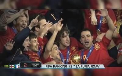 España rumbo al mundial