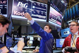 La Bolsa de Valores de NY.