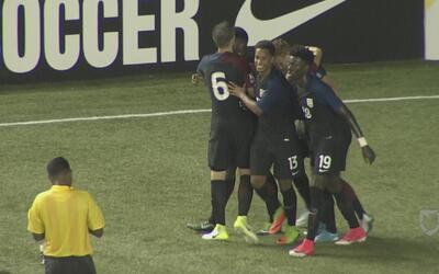 Ayo Akinola sentenció la goleada del Team USA sobre México