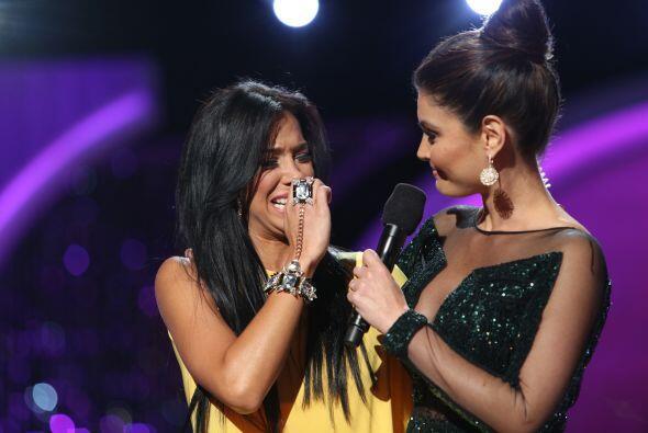 Valeria dijo que dio lo mejor de ella en la competencia y que agradec&ia...