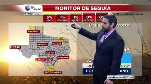 El tiempo: monitor de sequía