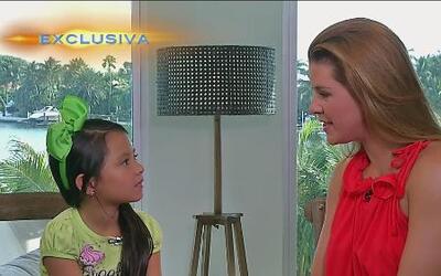 Alicia Machado fue entrevistada por su hija Dinora