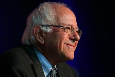Aumenta el apoyo al precandidato Bernie Sanders