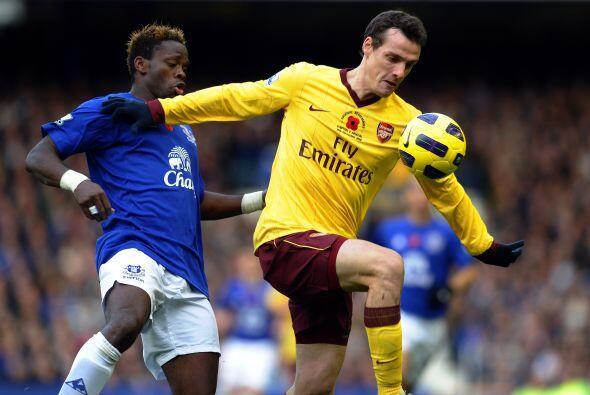 Por su parte, el Arsenal visitó al Everton, un duelo que garantiz...