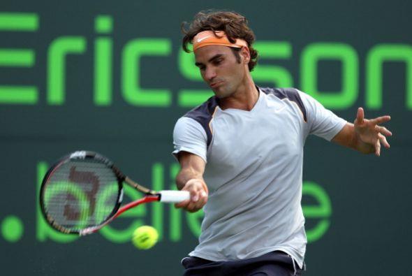 En el Indian Wells de marzo, Roger Federer volvió a toparse con s...