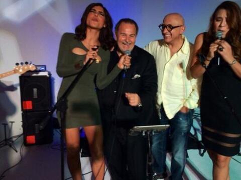 Alejandra Espinoza, Raúl de Molina y Alberto Ciurana mostraron su...