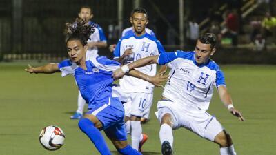 Honduras venció de visita 1-3 a Nicaragua