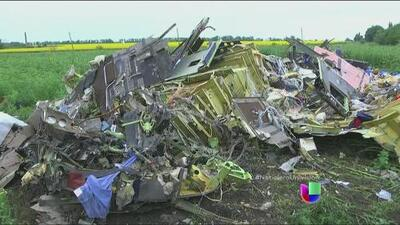 Continúa la búsqueda de culpables del derribo del vuelo MH17