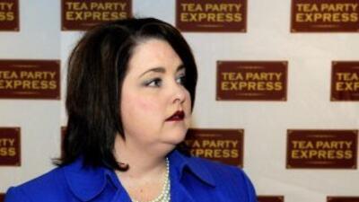 "Amy Kremer, quien encabeza el grupo ""Tea Party Express"", manifestó su ""i..."