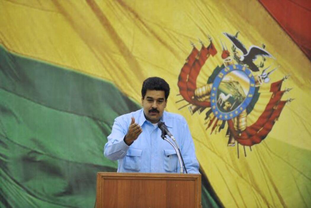 10 de junio 2011 Nicolás Maduro, el entonces canciller venezolano, leyó...