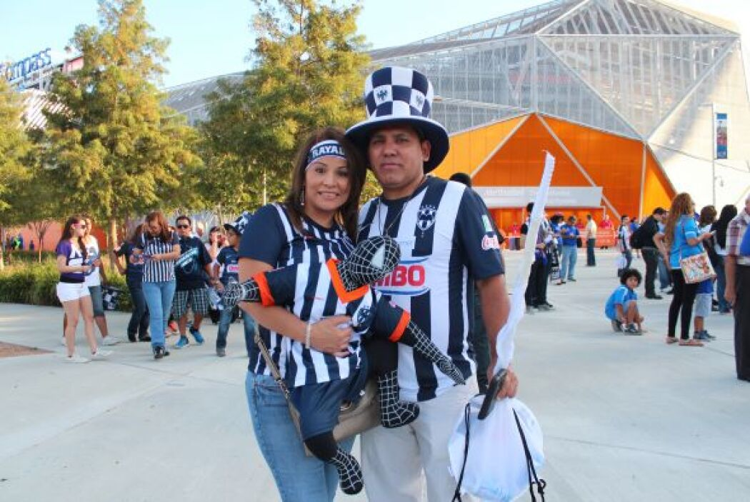 Ambiente de Cruz Azul vs. Rayados en Houston