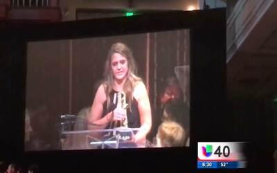 Univision 40 recibe su primer premio Emmy