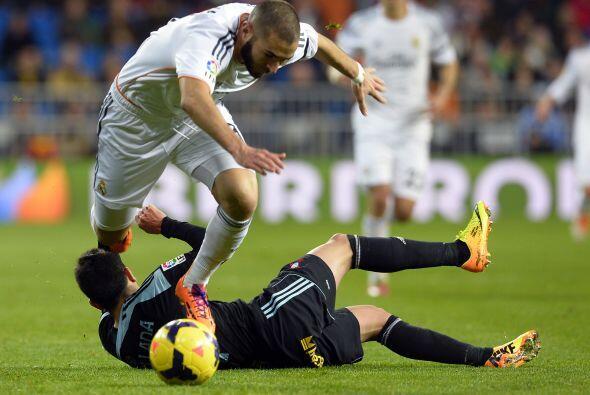 El cuadro de Vigo estaba jugando uno de sus mejores partidos ante los de...