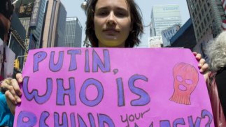 Rusia es objeto de una oleada de críticas por la condena a dos años de r...