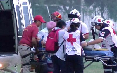 Heridos cuatro niños inmigrantes que viajaban escondidos durante balacer...
