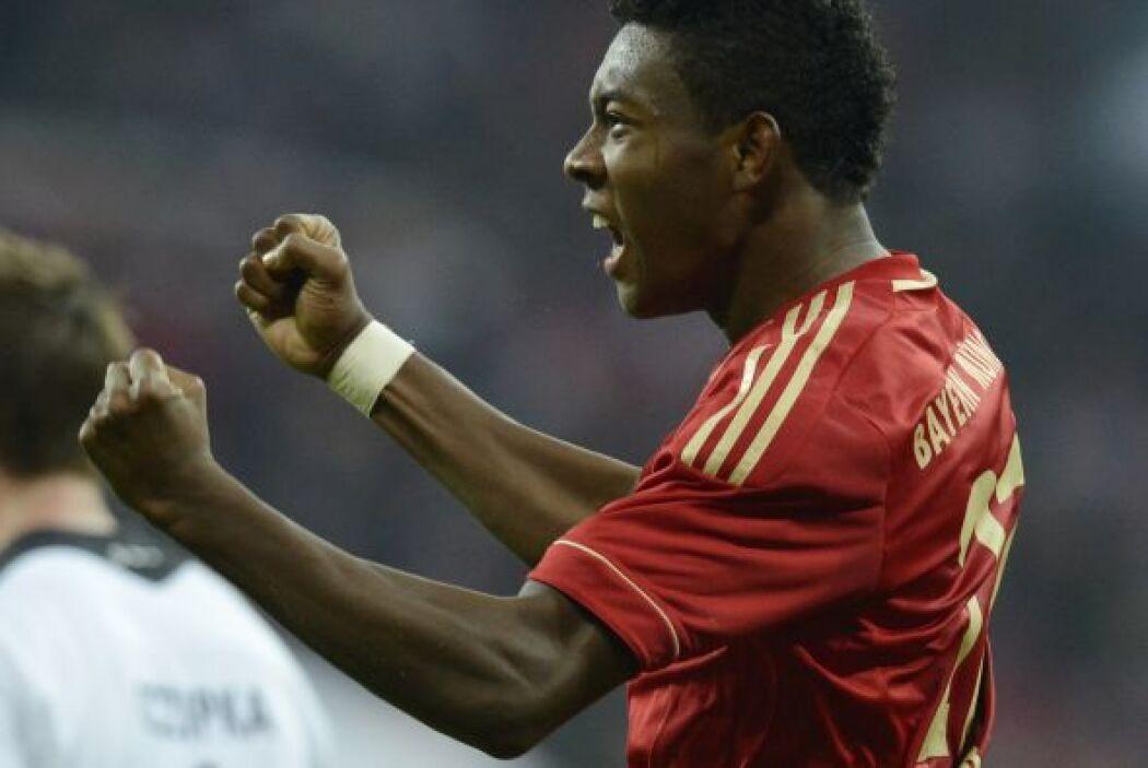 El defensor del Bayern Munich se hizo presente en la victoria ante Eintr...