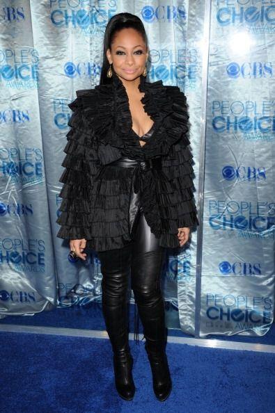 En 2011, Raven Symone fue una de las peores vestidas gracias a este 'mod...