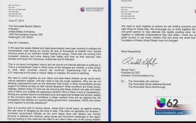 El presidente de Univision envía carta al presidente Barack Obama