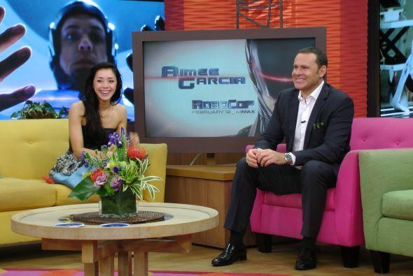Aimée García dará vida a una doctora que ayudará a este súper robot.