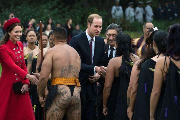 Los Duques en la tradicional ceremonia. Mira aquí los videos m&aa...