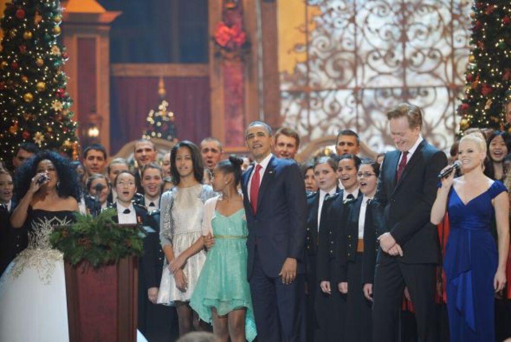 """En declaraciones breves, Obama dijo que el concierto fue """"una oportunida..."""