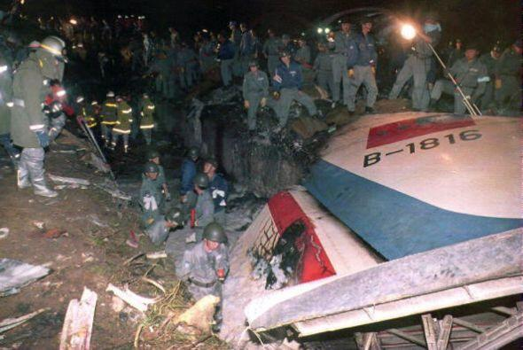 """8. Japón, 1994 """" Grave error del piloto provoca choque duran..."""