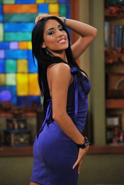 La venezolana Jeinny Lizarazo es muy apasionada...