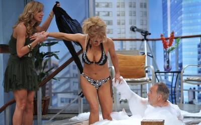 Raúl de Molina ya estaba esperando a la actriz en las cálidas aguas de e...