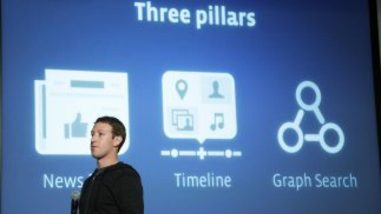 Facebook lanzó su propio buscador para consultar contenidos de amigos.