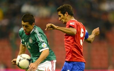 Javier Hernández y Celso Borges se verán de nuevo en Orlando.