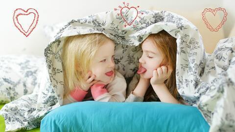 Juegos para que las hermanas se apoyen